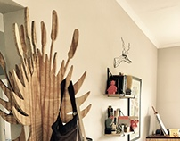 Aloe Coat Rack