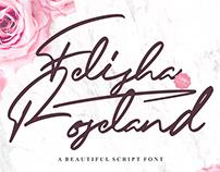 Free Felisha Roseland Script Font