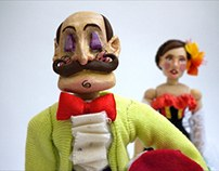 Actions Figures of Monsieur Periné
