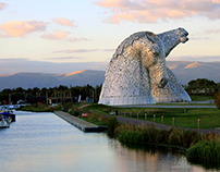 Kelpies, Falkirk, Scotland