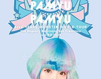 Kyary Pamyu Pamyu Five Years Monster World Tour Poster