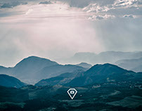 Montañas en la costa sur, Guatemala