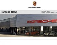Porsche Haus, Milan Communication materials