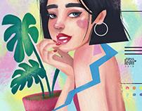 Diva a Color // Illustration
