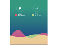 Health app - prototype