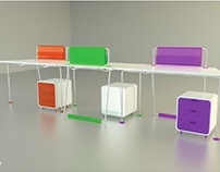 Office Furniture   Workstation with partitions