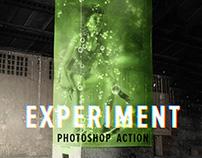 Experiment - Photoshop Action