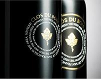 Clos Du Bois Win Label Design
