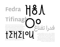 Fedra Tifinagh