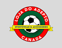 Loga do Adepto - Sportswear/Athletic Logo
