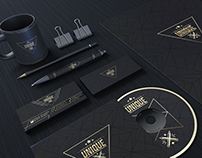 Enorise Business Corporate Stationary Identity