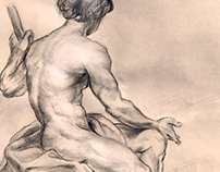 Old Masters Drawing Recreation/Study