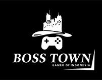 (Logo) BOSS TOWN - Gamer Of Indonesia
