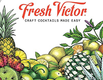 Fresh Victor Ingredients Illustrated by Steven Noble