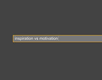 Inspiration and Motivation - A Motion Type Animation