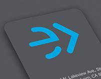 Nextup logo and branding