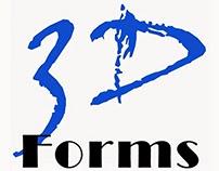3D Forms | Website Design