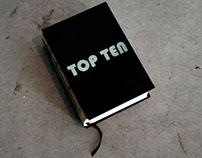 Libro de artista - Top Ten