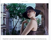 WordPress theme For Magazine and Personal Blogs