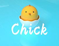 C4D chick