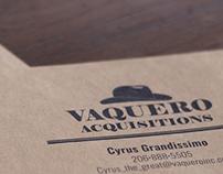 Vaquero Aquisitions