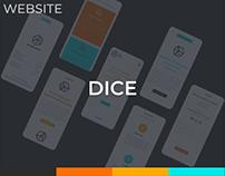 Dice Digital Services Website Design
