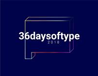36DaysOfType | 2018