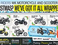 Riders advert design