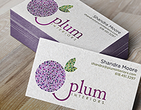 Logo: Plum Interiors