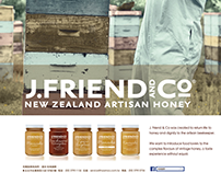 Advertisement Design J.Friend & Co.