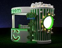 Careem carnival Booth
