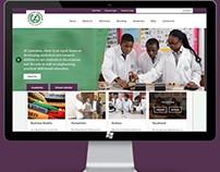 Website Design for Laureates College