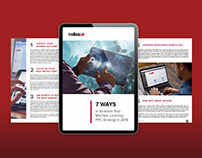 White paper / Ebook designs for marketing company