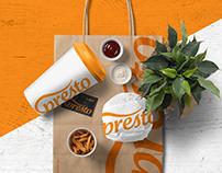 Presto Cafe | Branding