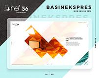 Nef - Basınekspres - Web Design