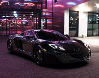 McLaren MP4 12C- 3D renderings