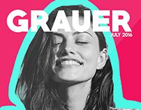 GRAUER - Mock Magazine