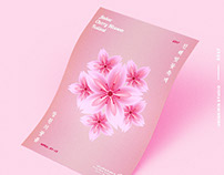 Poster - Jinhae Cherry Blossom Festival