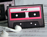 Gift Card Design for HMV