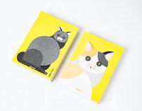 貓年彩蛋賀年卡 2019.5 Cat Year Card