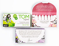 TOM Organic Branding & Packaging Design