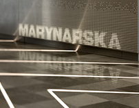 Marynarska Point Office Building Hall