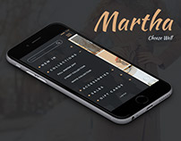 Martha  E-Commerce UX/UI Mobile App Design