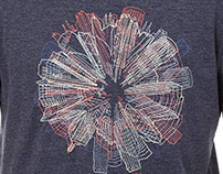 Embroidery and Applique' on t-shirt