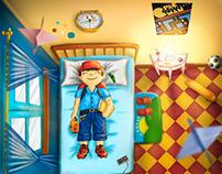 Ilustración Infantil - Recuerdos de Infancia