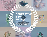 "GENERATIVE ART STUDIO ""ARTWORK600-700"""