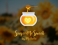 SugarMeSweet By Michelle Logo and Brochure