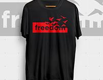 Freedom Independence T-Shirt Design | Amazon