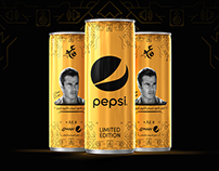 Pepsi Gold Packaging Design - Amr Diab