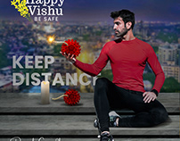 Happy Vishu - Covid-19